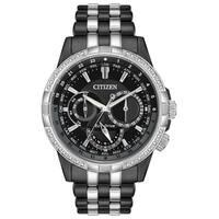 Citizen Men's Eco-Drive Diamond Bezel Watch