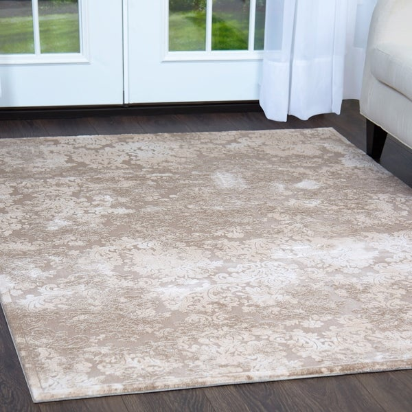 Remarkable Shop Beige Minerva Rug 52X72 Free Shipping Today Interior Design Ideas Inamawefileorg