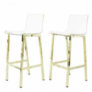 Stupendous Buy Gold Finish Counter Bar Stools Online At Overstock Pabps2019 Chair Design Images Pabps2019Com