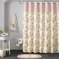 Five Queens Court Rosalind Floral Chic Shower Curtains