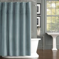 Five Queens Court Emily Velvet Shower Curtain