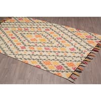 Denali Handmade Multicolor wool rug - multi - 8' x10'