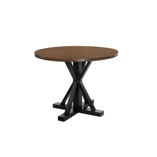 Simmons Casegoods Lexington Two-tone Counter Height Dining Table - Black