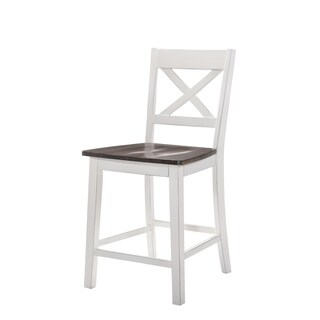 Havenside Home Cape 2-piece Counter-height Barstools