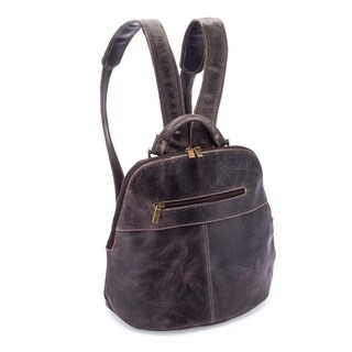 LeDonne Leather Westbury Distressed Woman's Backpack