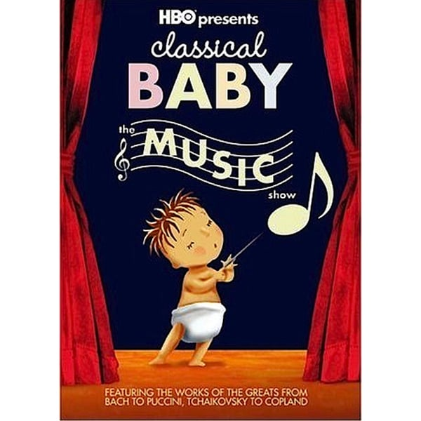 Classical Baby Music (DVD)