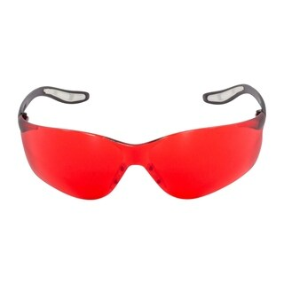 2 Pack FastCap CatEyes Safety Glasses, Red Lens, No Magnification