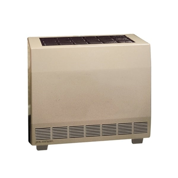 Empire 65000 BTU Closed Front Standing Pilot Hydraulic Thermostat Heater with Blower in Natural Gas