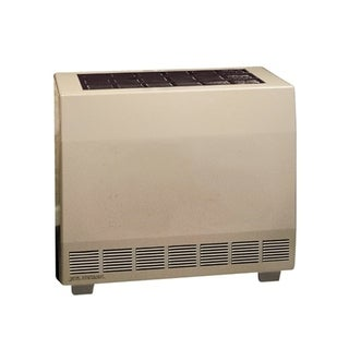 Empire 50000 BTU Closed Front Standing Pilot Hydraulic Thermostat Heater with Blower in Propane