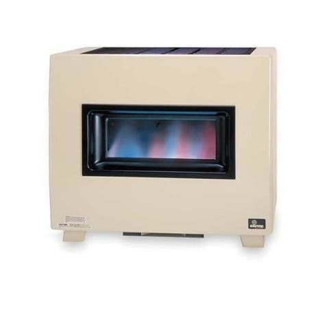 Empire 50000 BTU Visual Flame Standing Pilot Hydraulic Thermostat Heater with Blower in Natural Gas