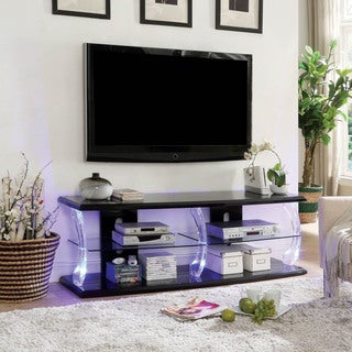 Furniture of America Tekna Modern TV Stand with LED (2 options available)