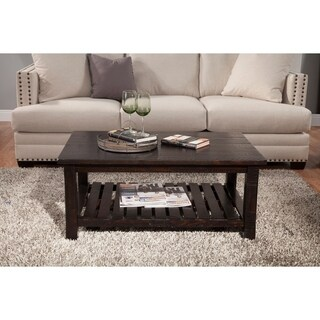 Martin Svensson Home Barn Door Collection Solid Wood Coffee Table