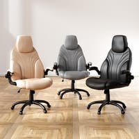 Furniture of America Beltran Contemporary Leatherette Office Chair