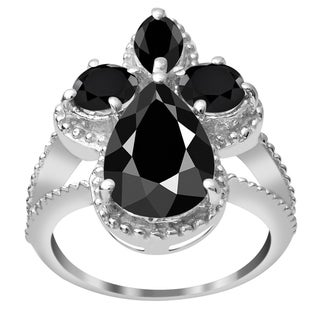 Beautiful Multi Gemstones Bridal Sterling Silver Ring with Choice of Gemstone