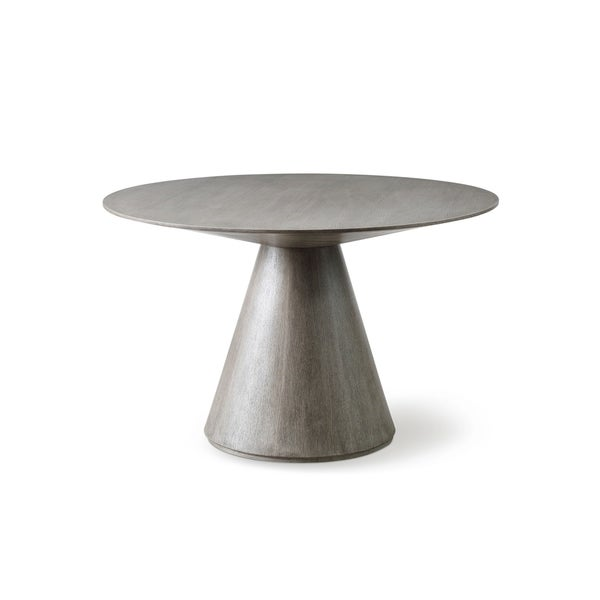 Shop Whiteline Kira Contemporary Modern Round Dining Table ...