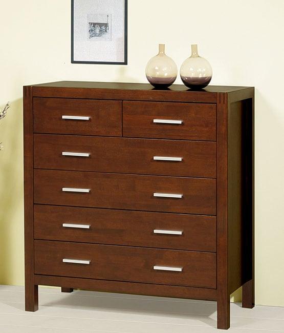 Creighton Walnut Cherry 6-drawer Dresser