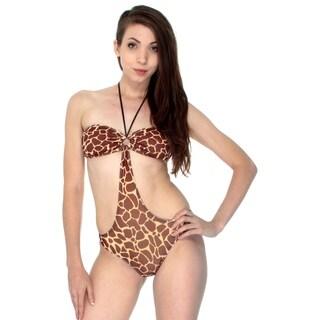 Simplicity Women's One Piece Sexy Beach Swimsuit Coverup