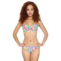 Simplicity Women Push Up Padded Swimwear Bikini Set