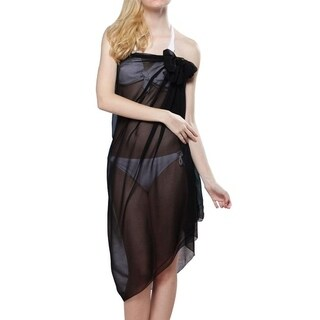 Simplicity EPYA Women's Sheer Chiffon Beach Coverup