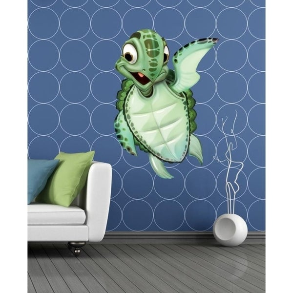 """Baby Turtle Full Color Wall Decal Sticker K-216 FRST Size 33""""x40"""". Opens flyout."""