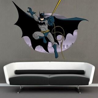 "Batman Cartoon Full Color Wall Decal Sticker K-227 FRST Size 52""x80"""