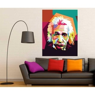 "Einstein Science Full Color Wall Decal Sticker K-237 FRST Size30""x47"""