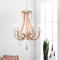 Fayza Transitional Cream Chandelier Lighting Fixture