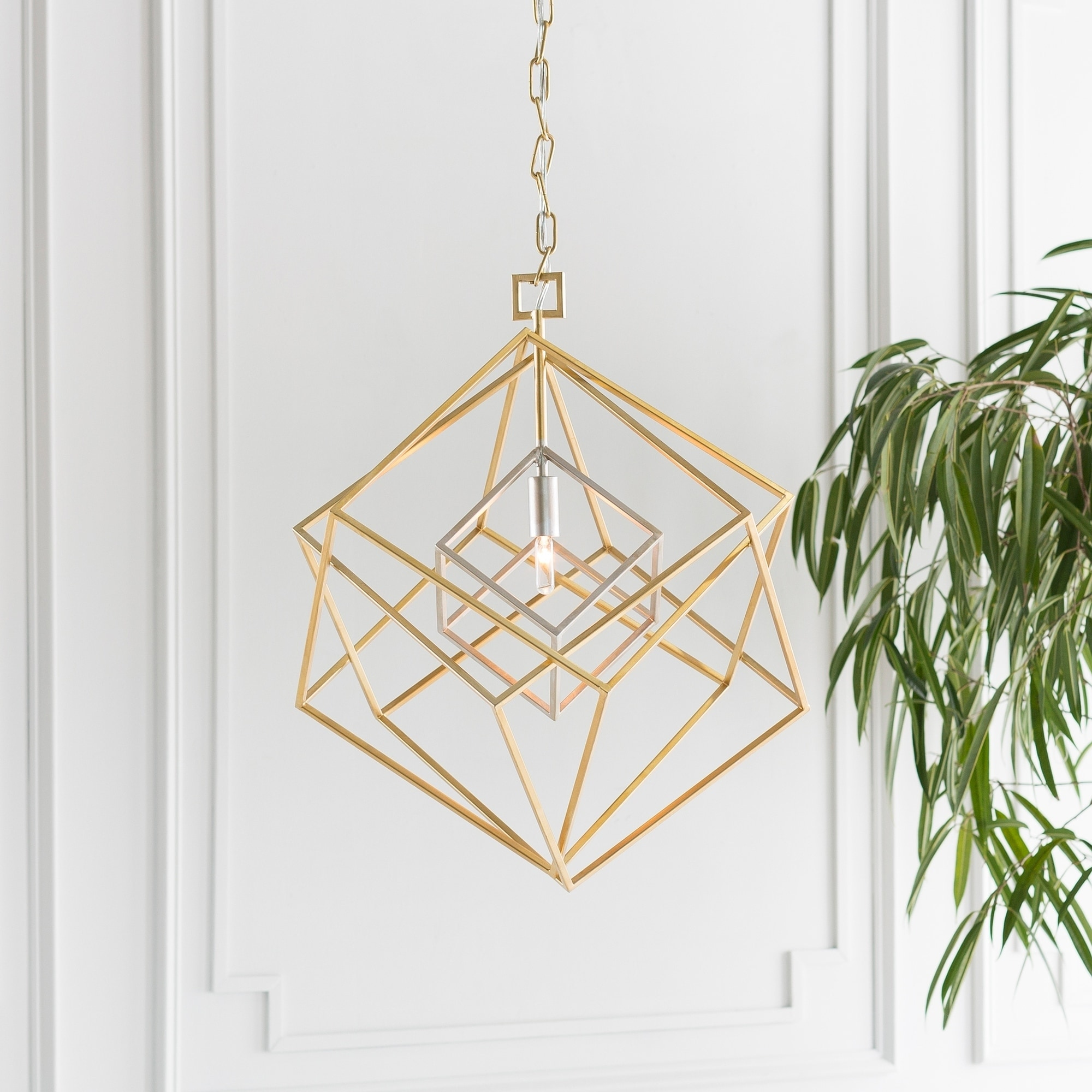 Shop Mccallum Modern Gold Pendant Lighting Fixture Overstock 20873220
