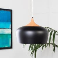 Roza Modern Black Pendant Lighting Fixture