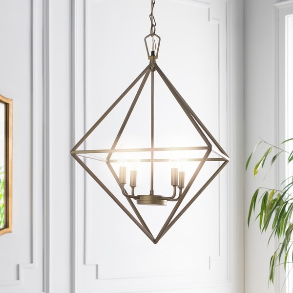 "Yori Modern Brass 29"" Pendant Lighting Fixture"