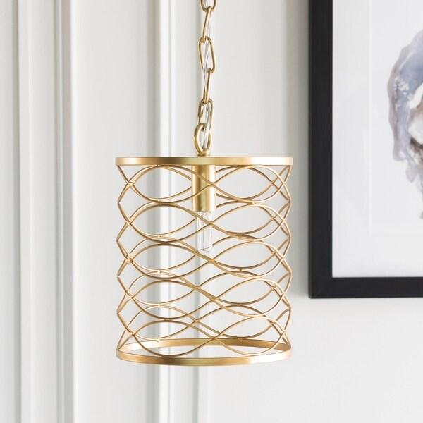 Francene Updated Traditional Gold Pendant Lighting Fixture