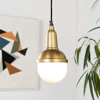 Phaidra Modern Gold 1-Light Pendant Lighting Fixture
