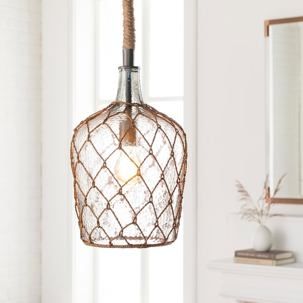 Rosica Transitional Light Grey Pendant Lighting Fixture