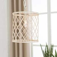 Antonia Transitional White Pendant Lighting Fixture