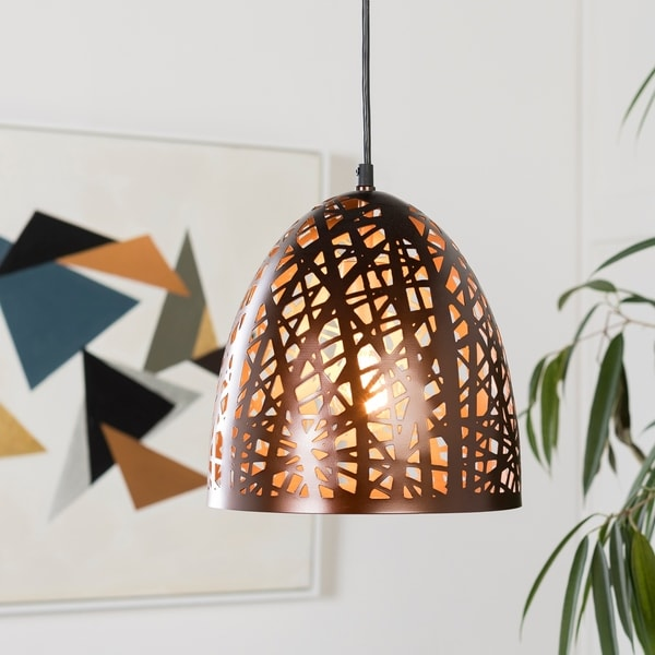 Brynja Modern Bronze Pendant Lighting Fixture