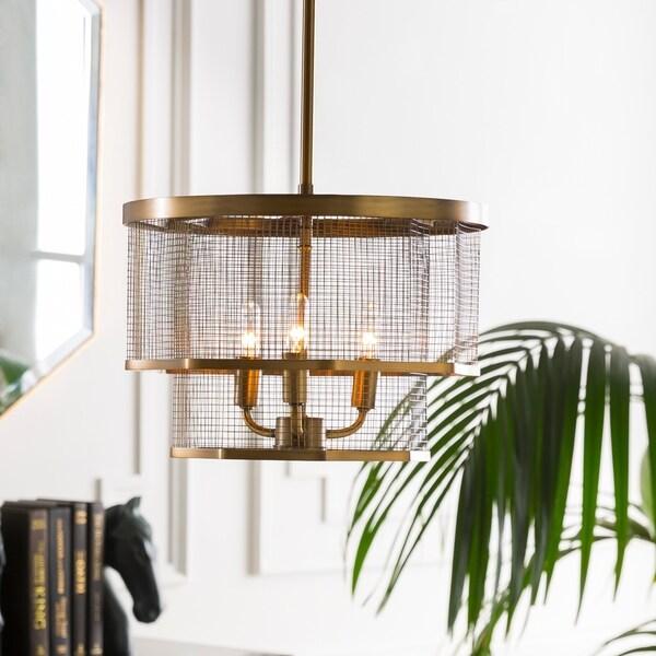 """Lennart Modern Brass 10.4"""" Pendant Lighting Fixture"""