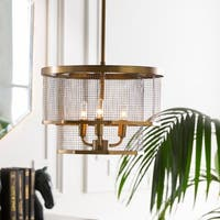 "Lennart Modern Brass 10.4"" Pendant Lighting Fixture"