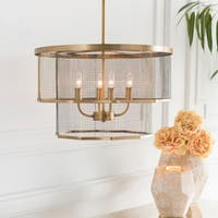 "Lennart Modern Brass 13.6"" Pendant Lighting Fixture"