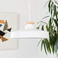 Irena Modern White Pendant Lighting Fixture