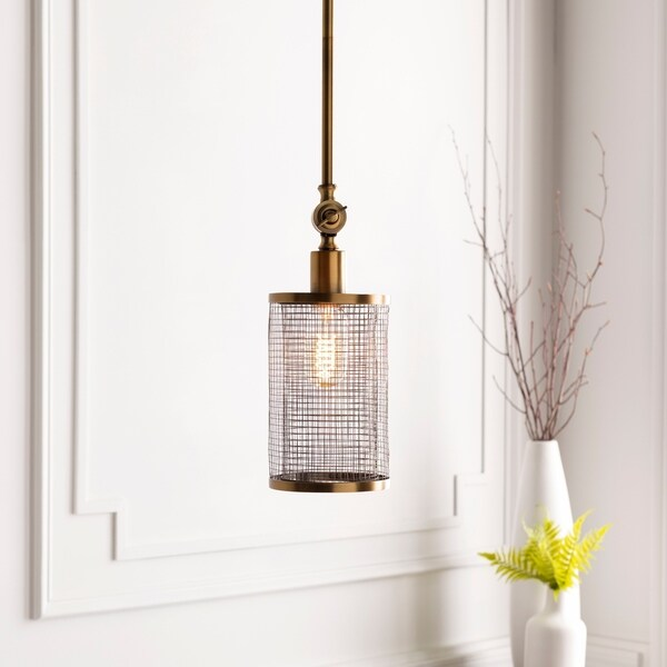 """Lennart Modern Brass 12.25"""" Pendant Lighting Fixture"""