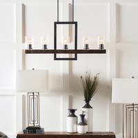 Iolanda Transitional Black Linear Lighting Fixture