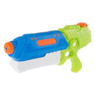 Water Gun Soaker with Air Pressure Pump- Lightweight Squirt Gun Toy for Beach, Pool and Outdoor Games for Kids by Hey! Play!