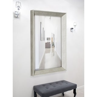 Hitchcock Butterfield Baroni Large Silver Transitional Mirror