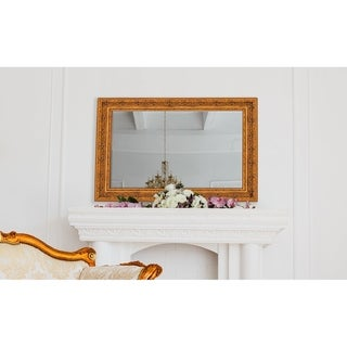 Hitchcock Butterfield Milano Large Gold Traditional Mirror