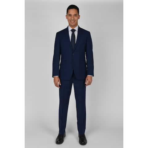 "KC Technicole Modern Blue Suit with 32"" inseam"