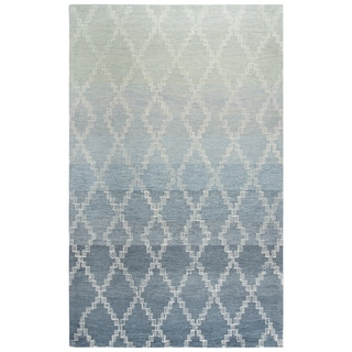 Rizzy Home Dune Grey Wool Area Rug - 8' x11'