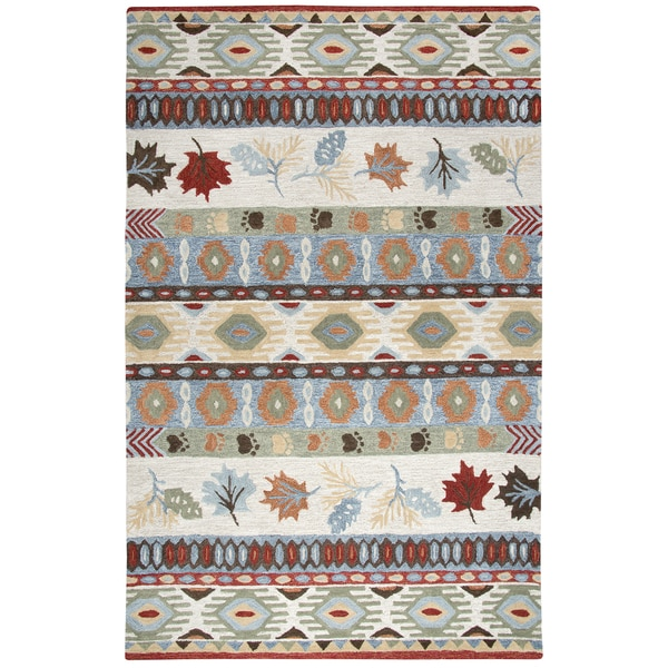 Rizzy Home Northwoods Area Rug Size Beige 5 X27 X