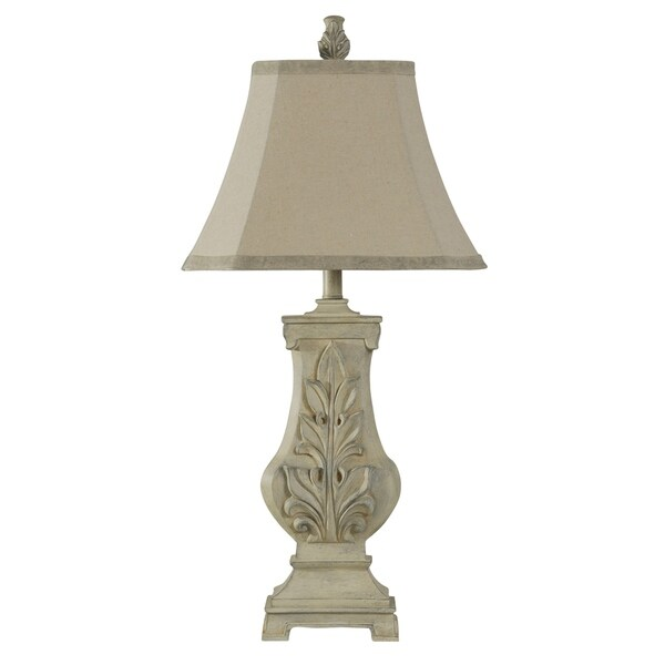 Bokava Off-white Table Lamp - Bokava Softback Fabric Shade
