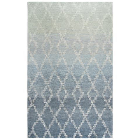 Rizzy Home Dune Area Rug, Size Gray - 5' x 8',