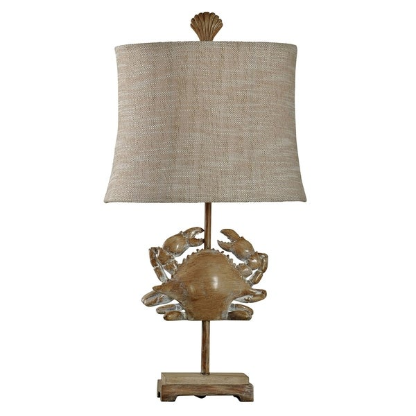 Lakeport Kerala With Royal Ivory Table Lamp - Beige Fabric Shade